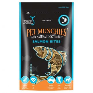 Pet Munchies Natural Salmon Bites