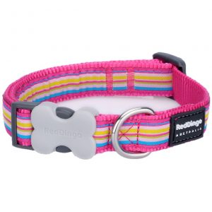red-dingo-hot-pink-stripes-dog-collar
