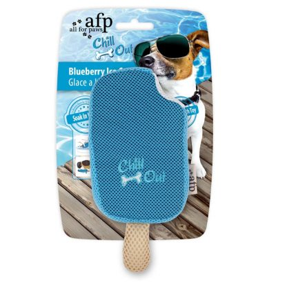 all-for-paws-thirst-crunch-blueberry-lolly-dog-toy