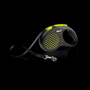 flexi-design-tape-dog-lead-yellow