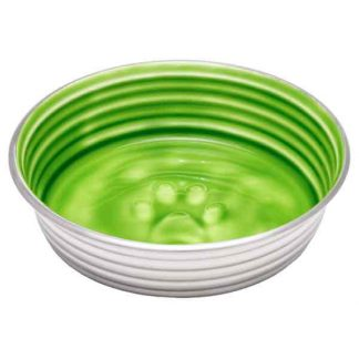 green-le-bol-dog-bowl