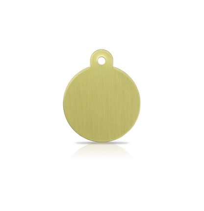 large-brass-disc-pet-tag