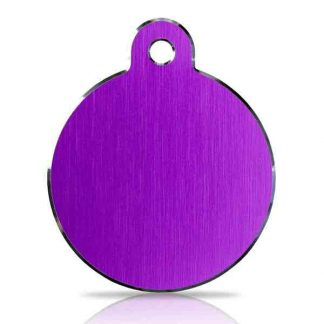 large-purple-disc-pet-tag