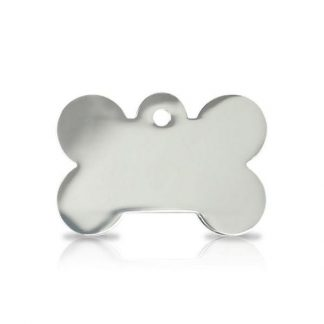 large-silver-bone-pet-tag