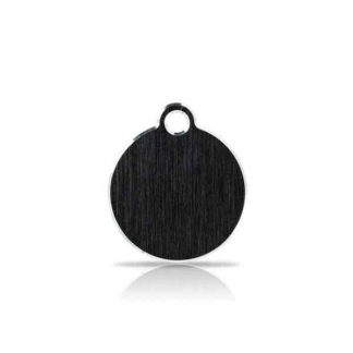 small-black-disc-pet-tag