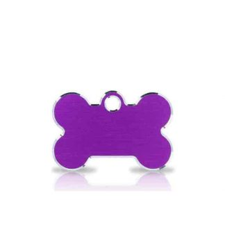 small-purple-bone-pet-tag