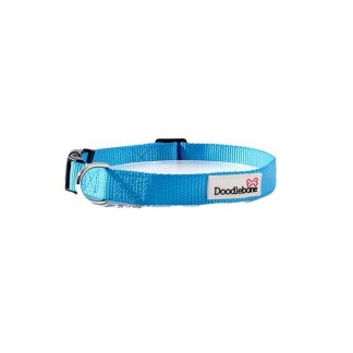 doodlebone-cyan-dog-collar