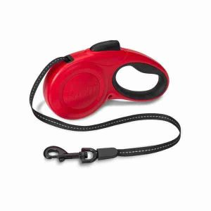 halti-retractable-lead-red
