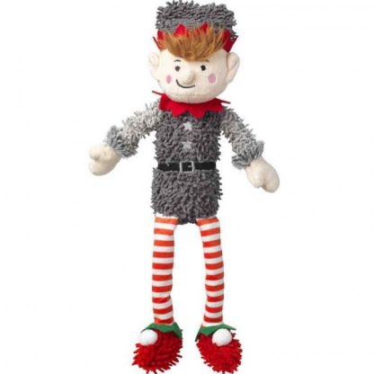 house-of-paws-silent-night-squeaker-free-fuzzy-elf-dog-toy