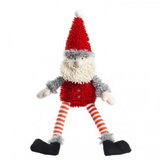 house-of-paws-silent-night-squeaker-free-fuzzy-santa-dog-toy