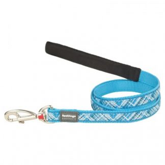 red-dingo-turquoise-flanno-dog-lead