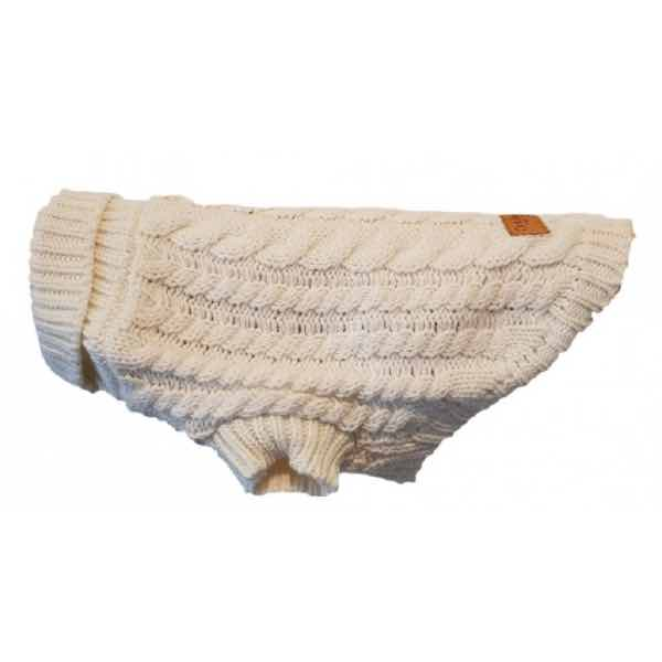 canine-co-cableknit-jumper-oatmeal