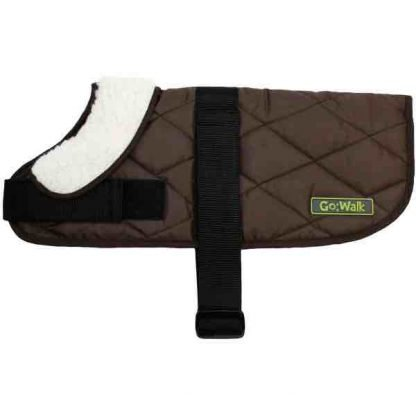 go-walk-brown-quilted-dog-coat