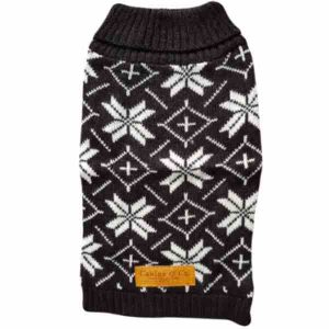 canine-co-festive-jumper-black