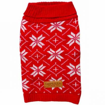 canine-co-festive-jumper-red