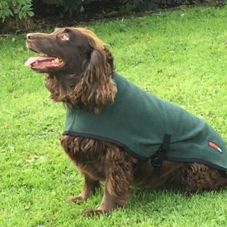 Hotterdog-Fleece-Coat-Green