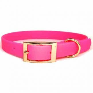 biothane-dog-collar-hot-pink