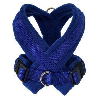 royal-blue-fleece-lined-harness