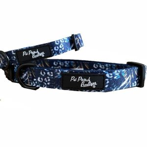pet-pooch-boutique-navy-jungle-collar